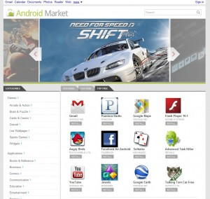 The New Web Based Android Market