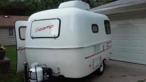 2011 Scamp 13 trailer
